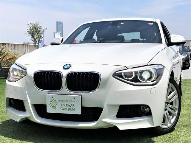 BMW 116i Mスポーツ 純正ナビカメラ アイドリングストップ