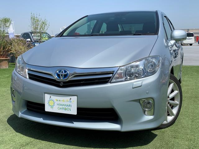 トヨタ SAI G 純ナビ地デジ/コーナーセンサー/電動シェード/純正18AW/禁煙車/ウッドコンビハンドル/AUX/Bluetooth対応