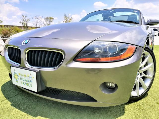 BMW Z4 2.2i 電動オープントップ/スターリンググレー/ETC/キーレス/純正アルミ/車検整備付
