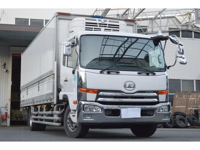 UDトラックス ベースグレード 冷蔵ウイング 増トン スタンバイ