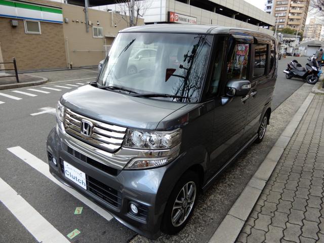 「ホンダ」「N-BOX+カスタム」「コンパクトカー」「大阪府」の中古車