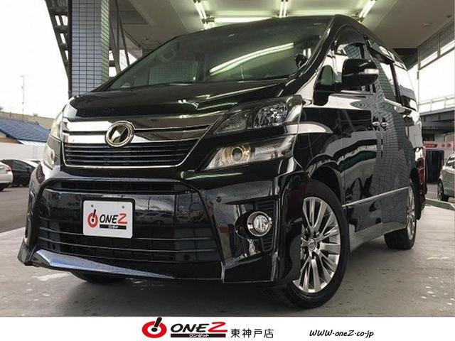 トヨタ 2.4Z ゴールデンアイズ 禁煙車 純正HDDナビ 両側電動