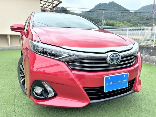 トヨタ SAI G Aパッケージ 後期モデル/プリクラッシ/LKA/8型メーカーナビ/Bluetooth/LEDライト/新品タイヤ付