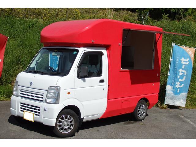 スズキ KC エアコン パワステ オートマ 移動販売車