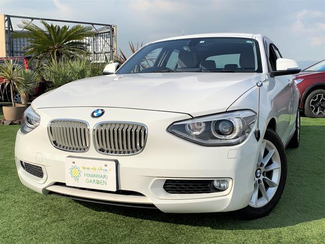 BMW 116i スタイル 純正ナビ DVD再生 HIDヘッドライト プッシュスタートキー