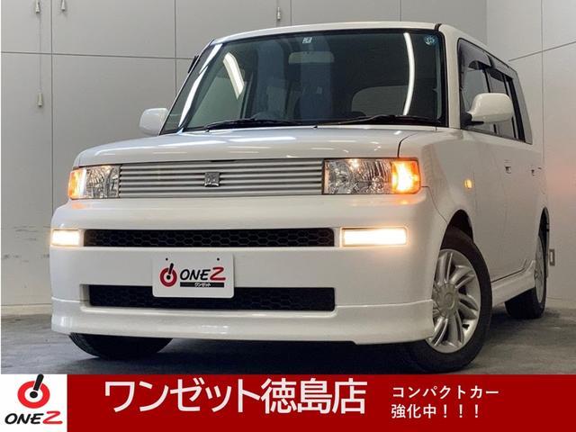 トヨタ bB Z Xバージョン 純正DVDナビ・純正アルミ・HIDライト・キーレス・電動格納ミラー・フルフラット