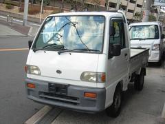 サンバートラックSTDスペシャルII 4WD 5速MT エアコン ホワイト