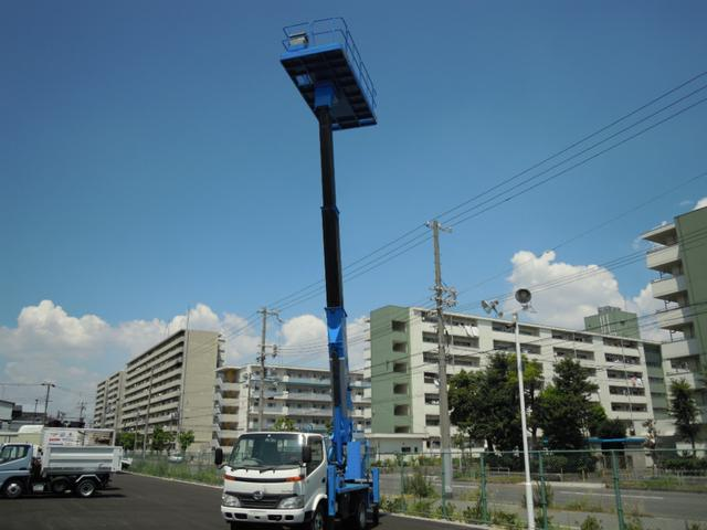 日野 12m高所作業車 プラットホーム式