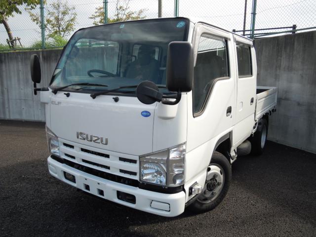 いすゞ 4WD Wキャブ・2t積・MT車