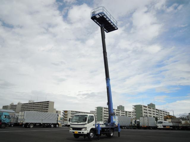 日野 14.8m高所作業車 プラットホーム式タダノ製AT-150S