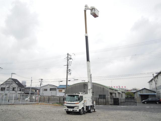 日野 14.5m高所作業車・電工仕様・サブバッテリー