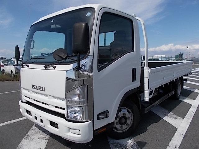 いすゞ 3t積・ワイドロング・平ボディ・6MT・低床