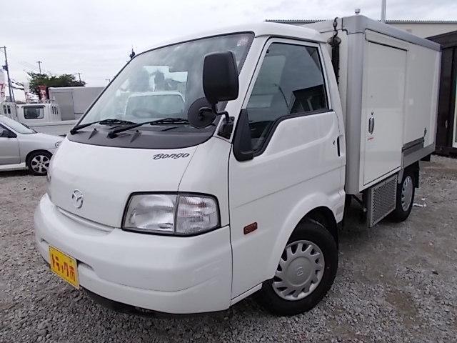 マツダ 冷蔵冷凍車・-5℃設定・両サイド扉・AT車・普通免許証OK