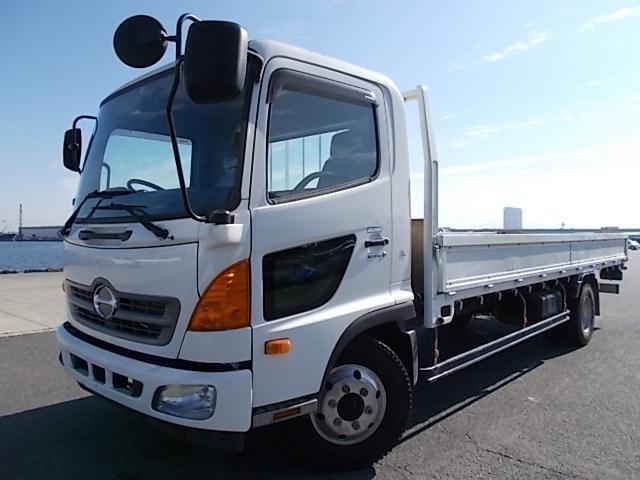 日野 ヒノレンジャー 4.2t積・6200ボディ・6MT・平ボディ