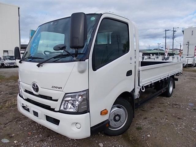 トヨタ ダイナトラック 2t積・ワイドロング・平ボディ・AT車・5t未満・準中型免許