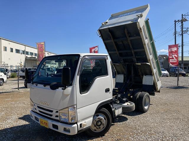 いすゞ 2t積・ダンプ・電動コボレーン付・5MT・全低床 準中型免許OK・5t未満
