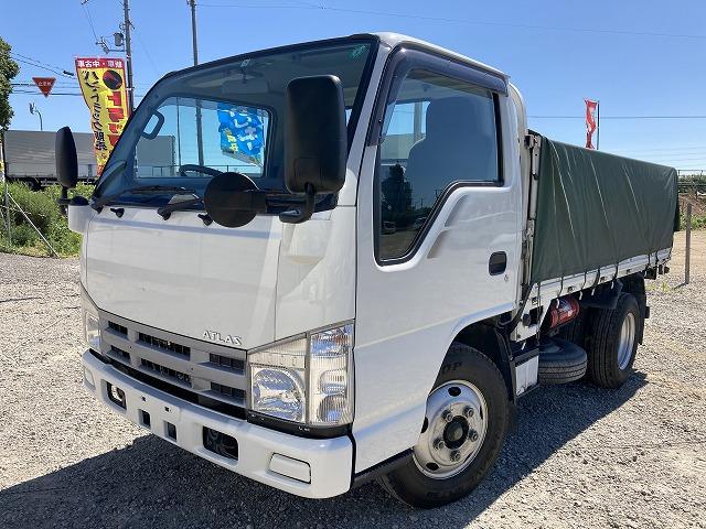 日産 3t積・平ボディ・6MT・10尺・高床車