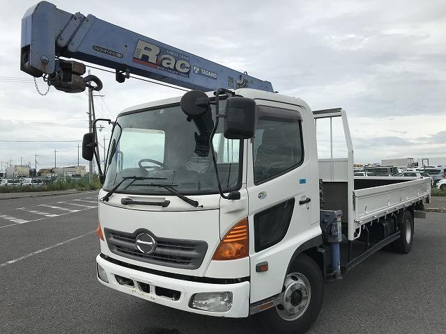 日野 2.7t積・3段クレーン・TADANO製 同年式・ラジコン付 6MT