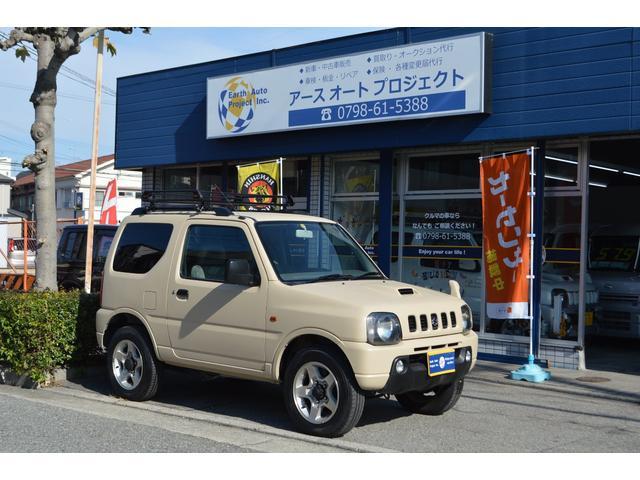 スズキ ジムニー XC 4WD 新品ルーフラック キーレスキー 純正アルミ