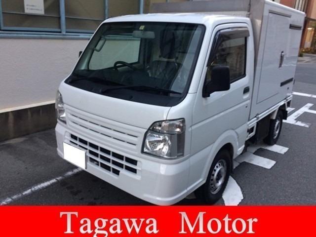 スズキ KCエアコン・パワステ 冷凍車 1WAY 3AT 車検整備付