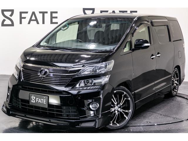 トヨタ ヴェルファイア 3.5Z Gエディション/黒革/サンルーフ/電動バックドア