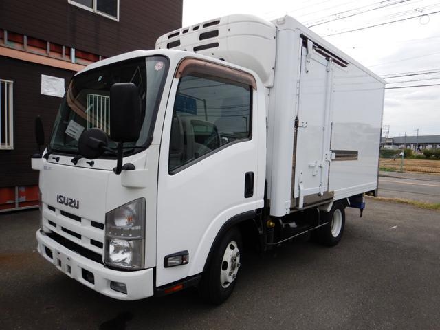いすゞ エルフバン  冷蔵冷凍車 シャッター式