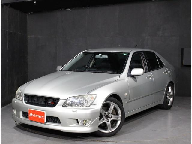 トヨタ アルテッツァ RS200 Lエディション TRDショック サスペンション 純正17インチアルミ TRDマフラー HID ETC 禁煙車