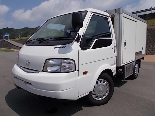 マツダ 冷蔵冷凍車・-5℃設定・両サイド扉・AT車・・普通免許証OK