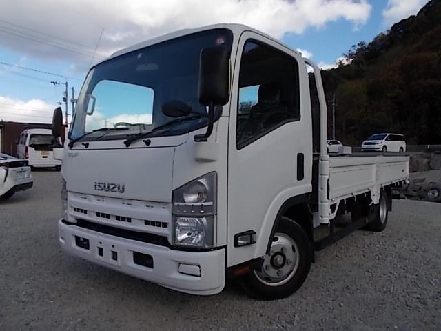 いすゞ エルフトラック 2t積・ワイドロング・5方開・平ボディ・5t未満・6MT