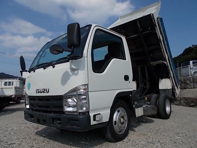 いすゞ エルフトラック 3t積・コボレーン付・ダンプ・6MT