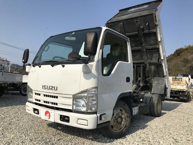 いすゞ 2t積・ダンプ・5MT・全低床・準中型免許・5t未満