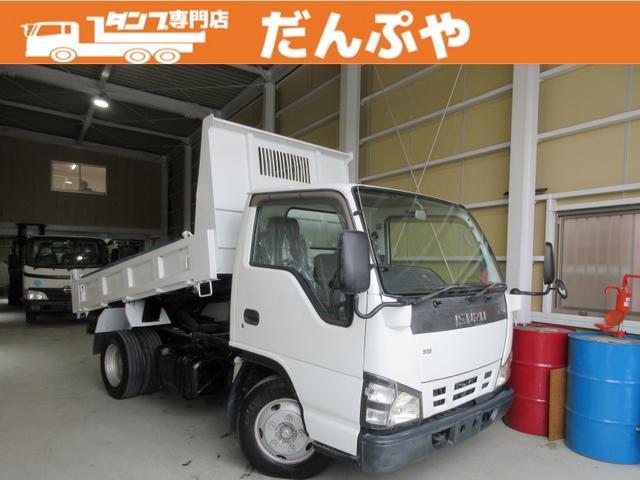 いすゞ ダンプ 2トン 低床 5MT  コボレーン 荷寸304-159-31(57) 荷台塗装 極東開発DD02-31 DPD HSA