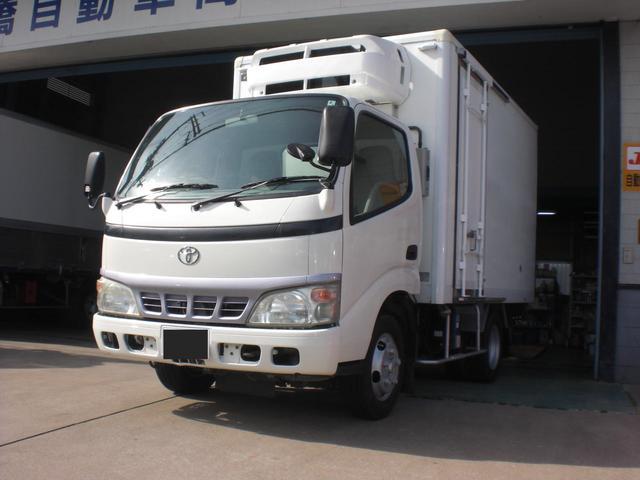 トヨタ 冷蔵冷凍車-30℃スタンバイ付