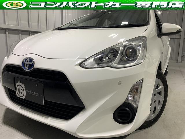 トヨタ アクア Sクリアランスソナー・社外オーディオ・ETC