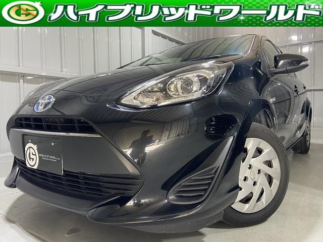 トヨタ アクア S中期・純正ナビ・衝突安全ブレーキ・バックカメラ・ETC・