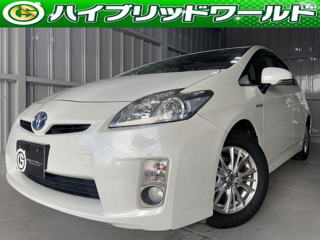 トヨタ プリウス Sバックカメラ・ワンセグ・ドラレコ・フォグ・ETC・BT