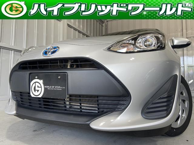 トヨタ アクア L 後期・オーディオ・オートエアコン・ESC