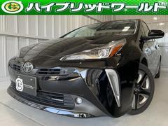 プリウスSツーリングセレクション トヨタセーフティーセンス・クルーズコントロール・シートヒーター・