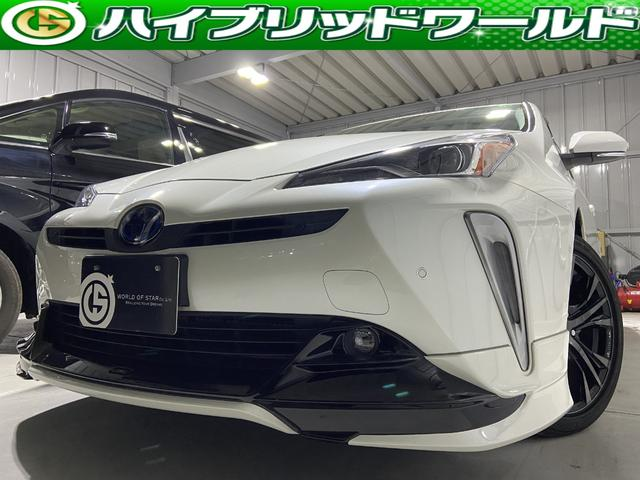 トヨタ Aツーリングセレクション セーフティーセンス・アルパイン9インチナビ・フルセグ・バックカメラ・HUD・TRDエアロ・TRDマフラー・Bluetooth・パワーシート・フォグ・ワンオーナー・快適温度シート・ETC