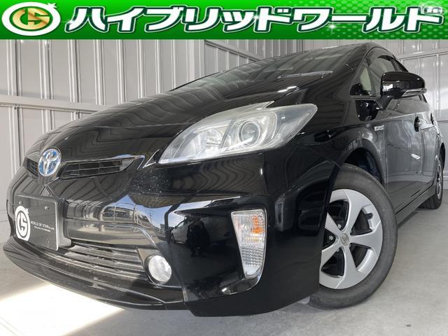 トヨタ プリウス S フルセグ・Bluetooth・ETC・バックカメラ・ナビ・CD