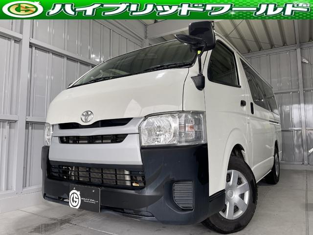トヨタ ロングDX ナビ・ビルトインETC