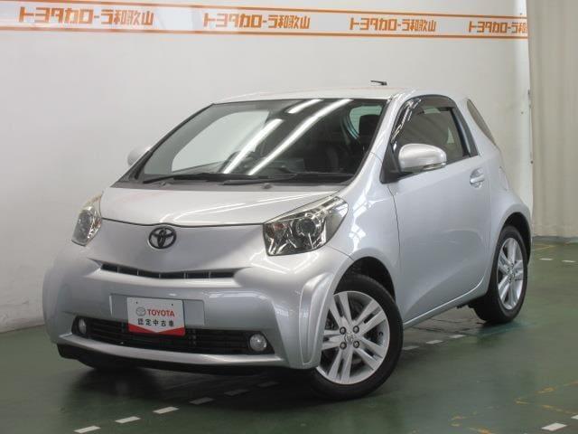 トヨタ iQ 100G レザーパッケージ メモリーナビ