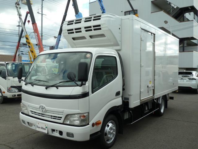 トヨタ 3t全低床ワイドロング冷蔵冷凍車 -32℃設定 スタンバイ付