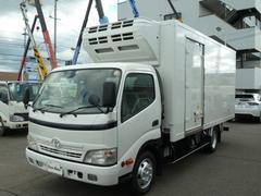 トヨエース3t全低床ワイドロング冷蔵冷凍車 −32℃設定 スタンバイ付