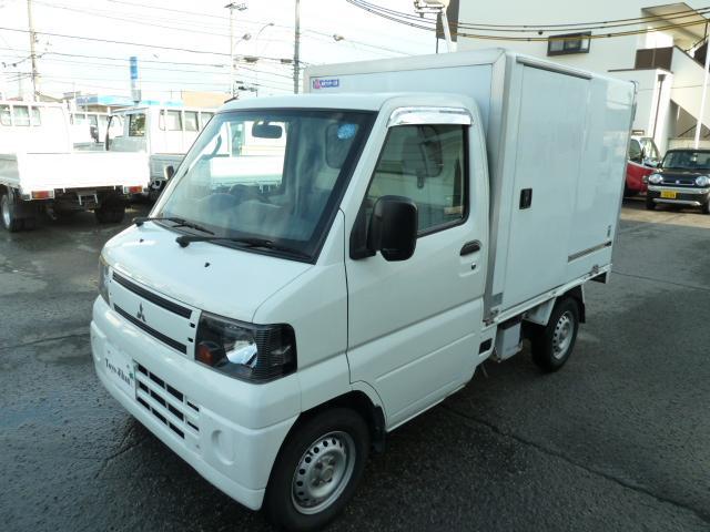 三菱 中温冷蔵冷凍車 左右サイドドア リースアップ車