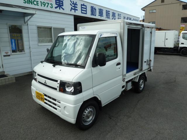 三菱 ミニキャブトラック 中温冷蔵冷凍車 AT リースアップ車