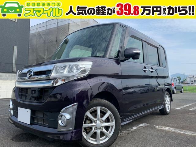 ダイハツ カスタムX SA片側電動スライド・ナビ・BT・エコアイドル