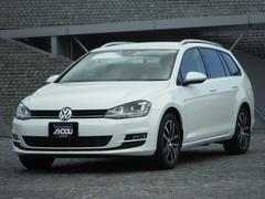 VW ゴルフヴァリアントTSIハイライン コネクトナビ