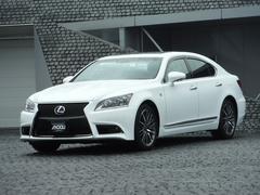 LSLS600h Fスポーツ 4WD HDDナビ 本革 SR