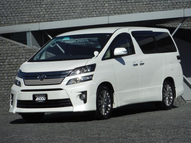 トヨタ 2.4Z ゴールデンアイズII 純正9型SDナビ地デジ